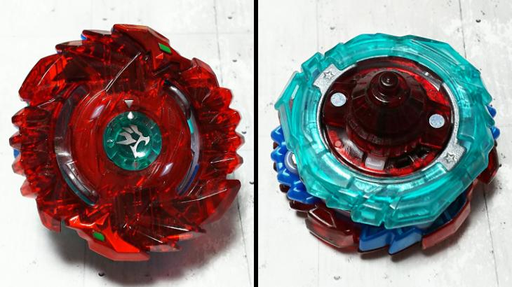 カスタマイズベイブレード シェルターレグルス.3V.F